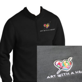 Art with a Heart Sweatshirt